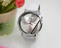 НОВИНКА! Стильные женские часы. Белые с белым (Код 031)