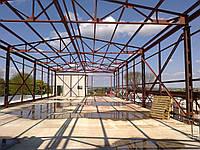 Строительство каркасних зданий