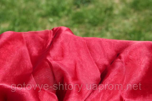 Шифон - бордовый
