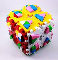 Сортер Куб Умный малыш Супер Логика (2650), фото 1