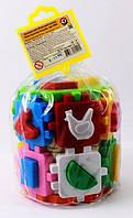 Сортер Куб Умный малыш Конструктор (2001), фото 1