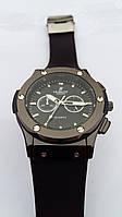 Часы мужские наручные Hublot Geneve,черные (копия) (HG005)