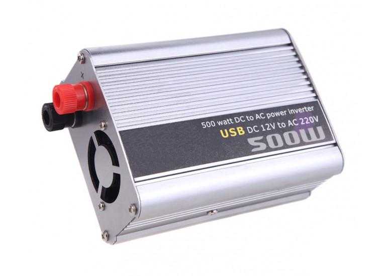 Инвертор автомобильный Power Inverter 500W with USB