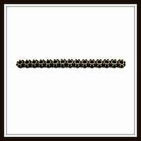 Разделитель на 15 нитей, бронза (4,6*0,4*0,1) 17 шт. в уп.