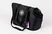 "AnimАll  сумка для собак   Сумка ""ZOOM"" №1  (35 * 19 * 24см) черная, фото 1"