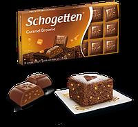 Шоколад Schogetten Caramel Brownie (Карамель Брауні) - 100 г.