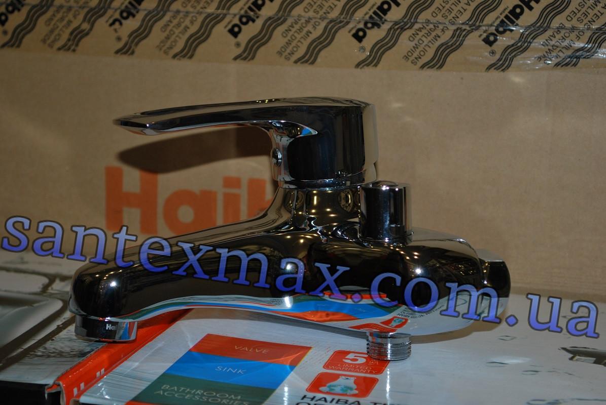 Однорычажный смеситель для ванной Haiba Hansberg 009 Euro