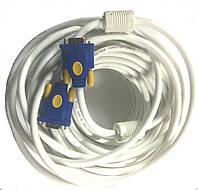 04-01-48. Шнур компьютерный VGA шт.- шт.VGA  с фильтром 30м