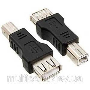 01-08-203. Переходник гнездо USB тип А - штекер USB тип В