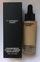 Тональный крем для лица M A C Studio Waterweight SPF 30 Foundation 30 ml ( №35,40 ) (реплика)