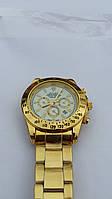 Часы мужские наручные Rolex Cosmograph Daytona gold (копия) (RCD007)