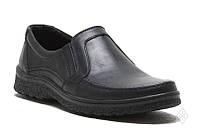 Туфли мужские кожаные черные 39-48 р., фото 1