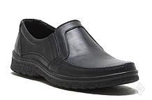 Туфли мужские кожаные черные 39-48 р арт 004/304.