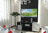 Тумба TV-line 08 Венге-белый супермат (1430х530х350 мм)