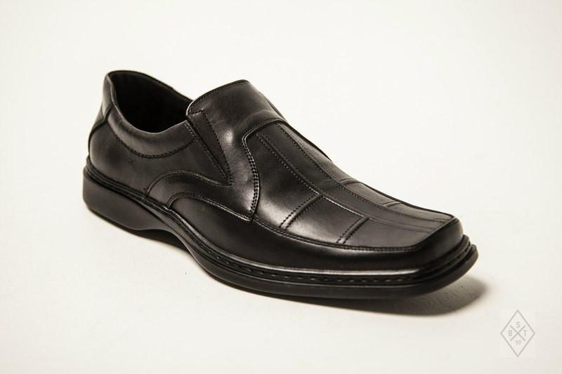 Мужские туфли кожаные 005