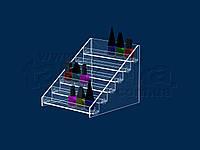 Подставка для лаков на 30-35 баночек, фото 1