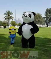 надувной костюм ростовая кукла пневмо костюм панда