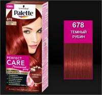 Palette Perfect Care краска для волос 678 Темный Рубин