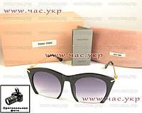 Женские солнцезащитные очки Miu Miu качество классический стиль элегантный дизайн Миу Миу
