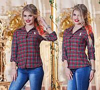 Женская стильная рубашка ДГ0138
