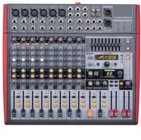 Мікшерний пульт з підсилювачем AMP1400 + FX12MP3+EQ