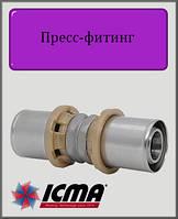 Муфта 32х32 ICMA пресс-фитинг
