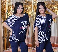 Женская стильная туника ДГат 3237