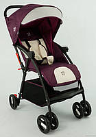 Коляска прогулочная JOY С 958 фиолетовая ***