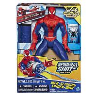 !УЦЕНКА! Человек паук стреляющий паутиной Spider Man/Hasbro, фото 1