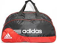 Сумка текстильная спорт черный с красным, фото 1