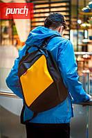 Рюкзак молодёжный PUNCH - Tilt, Black/Yellow