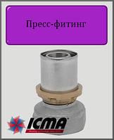"""Муфта 20х1/2"""" В ICMA пресс-фитинг"""