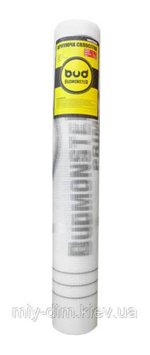 Сітка скловолоконна штукатурна 2.5х2.5; 1мх50м 45г/м2 Budmonster PRIME біла