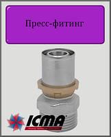 """Муфта 32х1 1/4"""" Н ICMA пресс-фитинг"""
