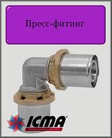 Угол 16х16 ICMA пресс-фитинг