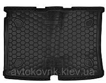 Полиуретановый коврик в багажник Citroen Nemo 2007- (AVTO-GUMM)