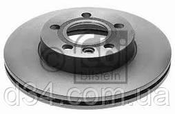 Диск торм передн R15 2.5TDI h55 (вент) 96-03 VW T4