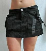 Женская юбка Ecko Red (36232) черная код 0115 Б