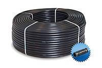 Трубка для капельного орошения диаметр 16 мм с капельницами 2,1л/ч через 30см, бухта 400м, Греция