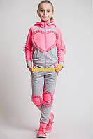 Спортивный костюм для девочки Сердце, фото 1