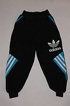 Спортивные брюки на мальчика 26-34 р черные.