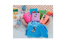 Полотенце махровое детское для лица 50 х70,Yagmur  Kids Club, Турция, диснеевские герои