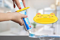 """Выдавливатель - выжиматель зубной пасты """"Желтый Котик"""""""