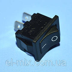 Выключатель AE-H8600VBACN (MRS-101) черный 1-группа ON-OFF  Arcolectric