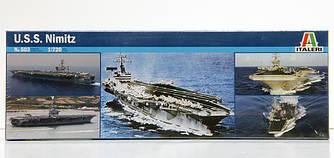 """Сборная модель Авианосца CVN-68 """"NIMITZ"""", 1/720"""