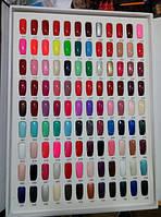 Гель лак Global Fashion 10мл вся палитра цветов, гель лак global fashion shellac