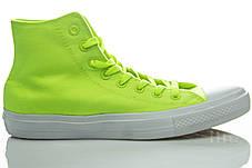 Кеды высокие Converse Chuck Taylor All Star II Volt Green, фото 3