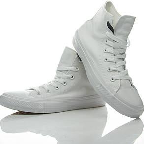 Кеды высокие Converse Chuck Taylor All Star II White, фото 2