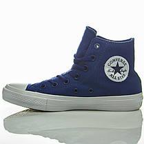 Кеды высокие Converse Chuck Taylor All Star II Sodalite Blue, фото 2