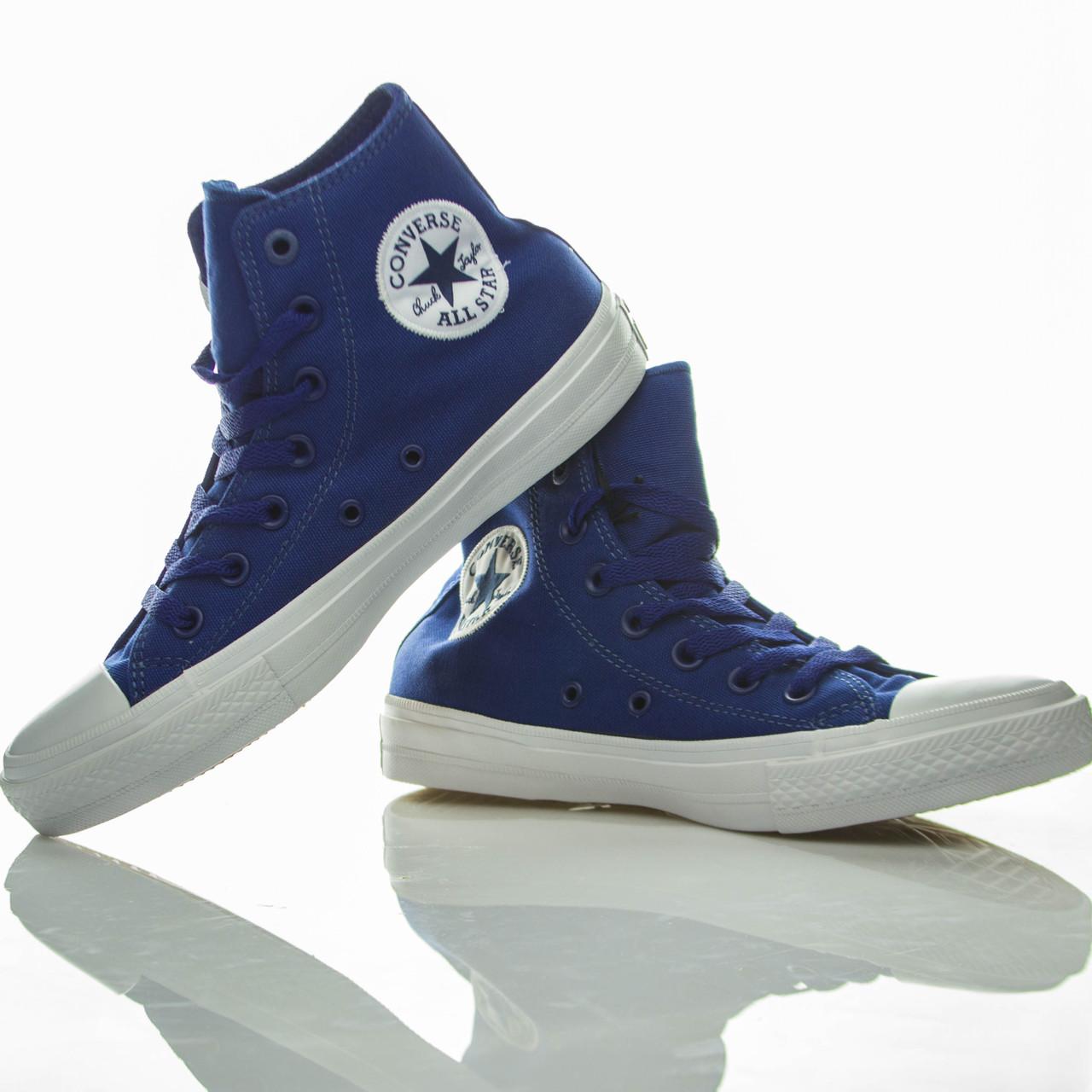 Кеды высокие Converse Chuck Taylor All Star II Sodalite Blue